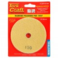 100MM DIAMOND WET POLISHING PAD 150 GRIT YELLOW