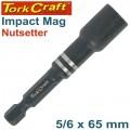 IMPACT NUTSETTER 5/16 X 65MM MAGNETIC BULK