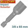 IMPACT NUTSETTER 3/8'X 65MM MAGNETIC CARDED