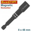 MAGNETIC NUTSETTER 8 X 48MM CARDED