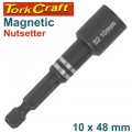 MAGNETIC NUTSETTER 10 X 48MM CARDED