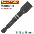 MAGNETIC NUTSETTER 5/16 X 48MM CARDED