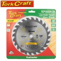 BLADE CONTRACTOR 185 X 24T 16MM CIRCULAR SAW TCT