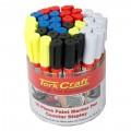 PAINT MARKER PEN 36PC BULK TUB RED/YEL/WHITE/BLACK/BLUE