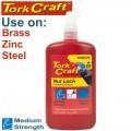 NUT LOCK MEDIUM STRENGTH FOR STD SIZED T  250 GRAM