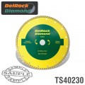 DIAMOND BLADE 230MM TURBO DELROCK